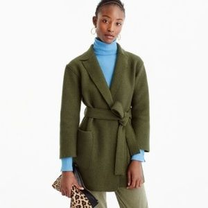 J.Crew Wool Wrap Coat